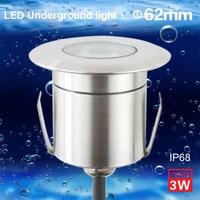Limited Grondspot Jardim Lampadaire Moderne Ip68 Underwater 1w Underground Led Deck Light Inground Ac 12v Ac85v-265v