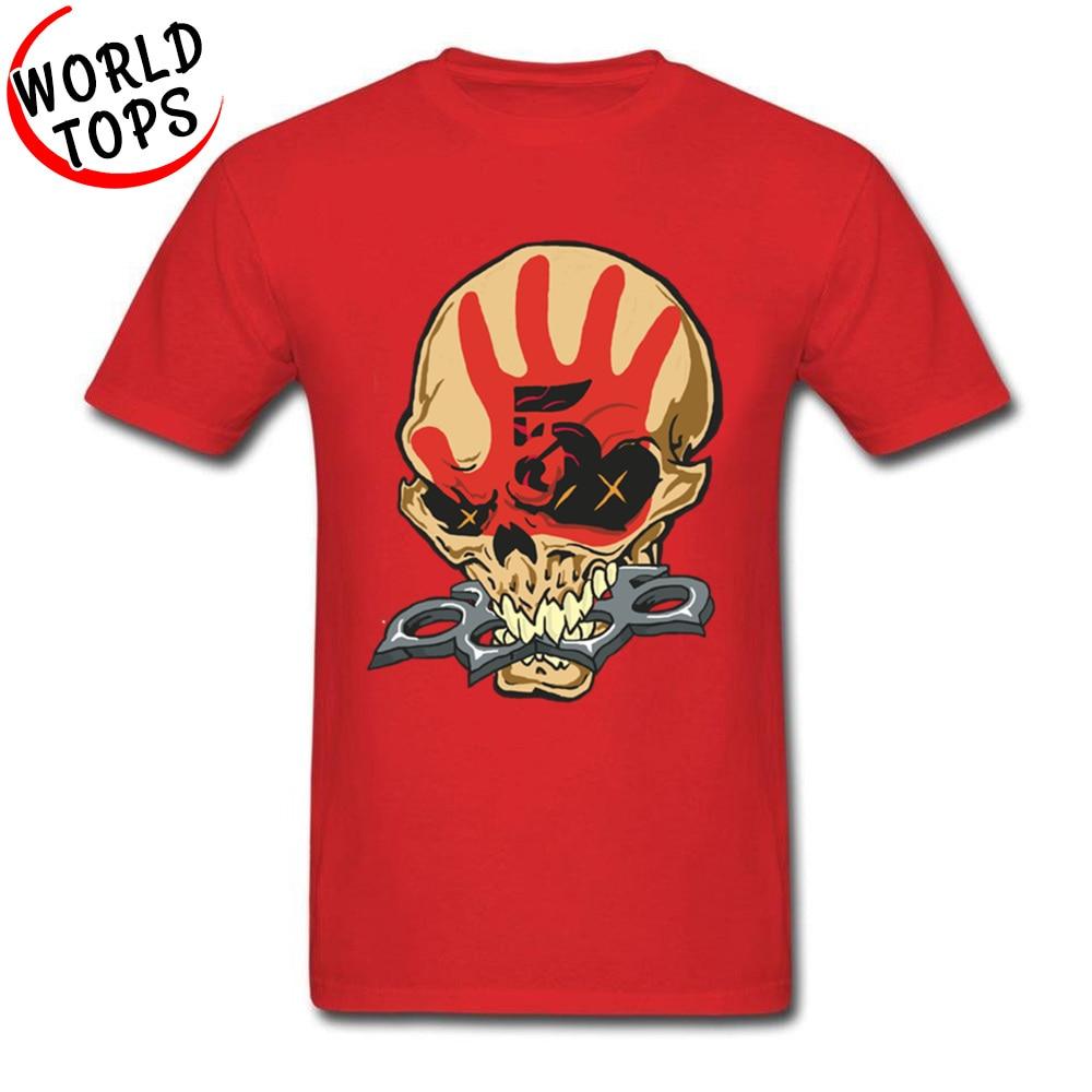 2018 Johnny Cash Design T Shirt Death Punch Skull Gothic Tshirt For Men Hip Hop Rock DJ Geek Youth T-Shirt