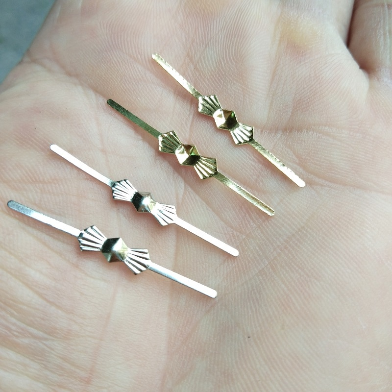 200 unids/lote cobre mariposa metales corbata conectores con clavijas Clips de corbata piezas de la lámpara conector araña de cristal de conexión pin