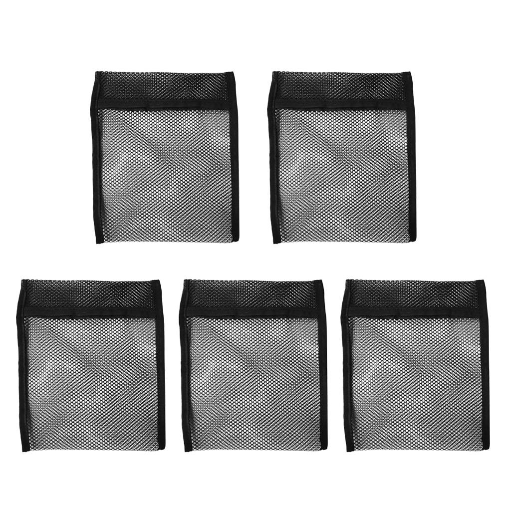 Прочный пустой черный сетчатый мешок для подводного плавания 5 шт. сумка весом 2