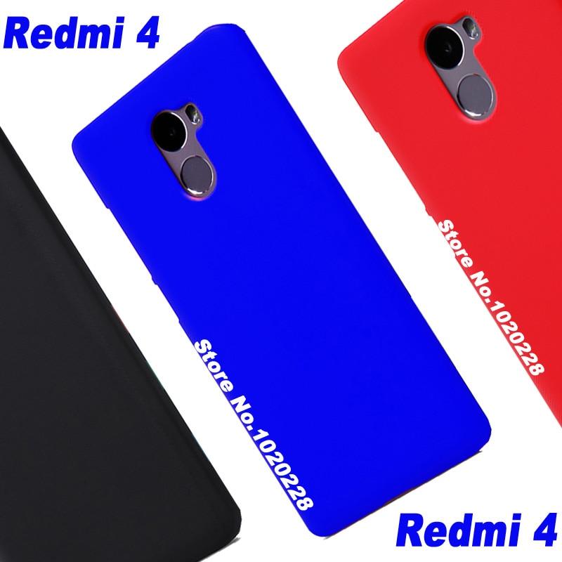 Чехол для Xiaomi Redmi 4 Xiomi, пластиковый новый жесткий чехол для ПК, для xiaomi redmi 4, стандартный чехол для ПК, высокое качество, Xiaomi Redmi4