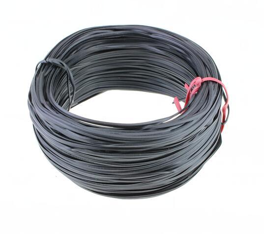 0 75 мм ПВХ лента для привязывания проводов оцинкованная проволока обернутая