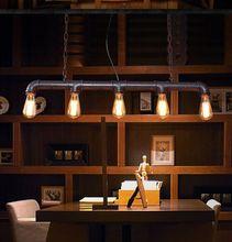 Edison lampes de comptoir déclairage de barre personnalisées lampes suspendues vintage tuyau deau lampe pendante pour entrepôt E27 ampoules DHL/Fedex