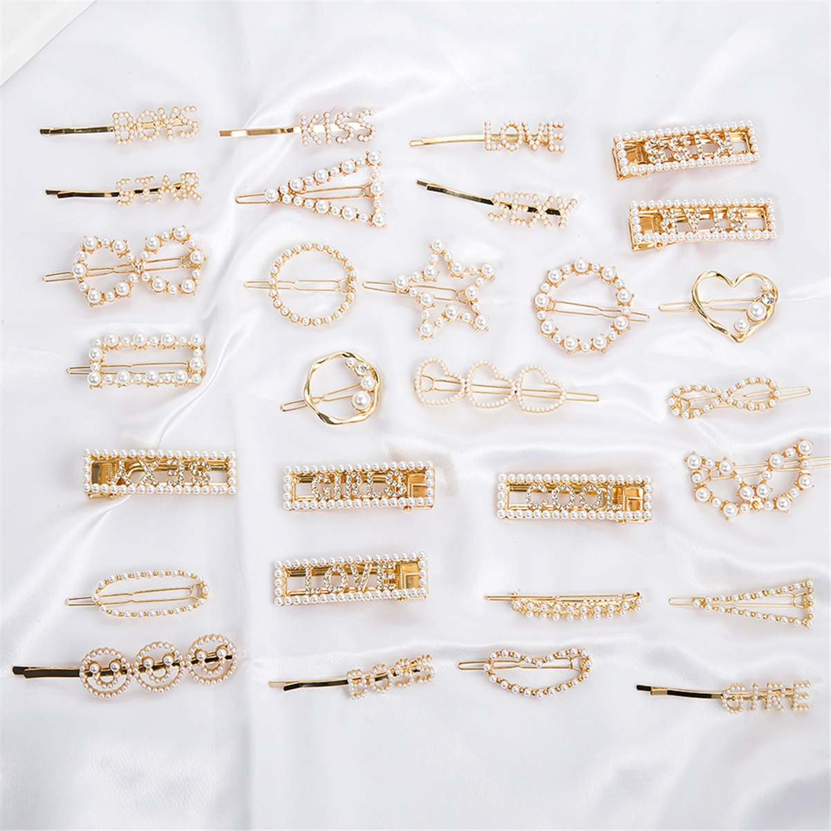 29 estilos coreano simulado pérola barrettes para senhoras casamento nupcial elegante cristal pino de cabelo ferramentas estilo beleza