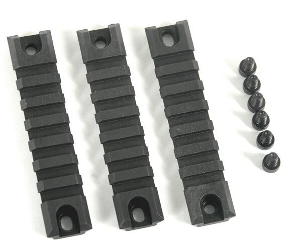 Secciones de carril de polímero táctico para Montaje en carril G36/G36C/M4 negro envío gratis