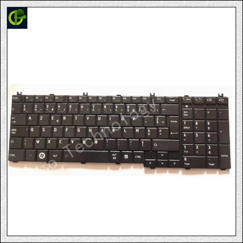 Французская Azerty клавиатура для toshiba Satellite C650 C655 C655D C660 C670 L650 L655 L670 L675 L750 L755 l755D ноутбука FR
