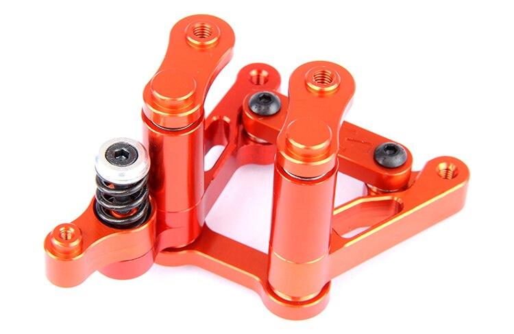 CNC Präzision Bearbeitung Alle Metall Lenkung Gruppe für ROVAN KM HPI BAJA 5B 5T 5SC