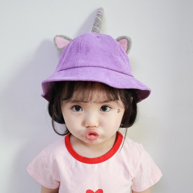 Novedad, sombrero bonito de pana para chico, sombrero de pescador a la moda para invierno, sombrero cálido con dibujo de chica, sombrero para fiesta de Navidad y Halloween