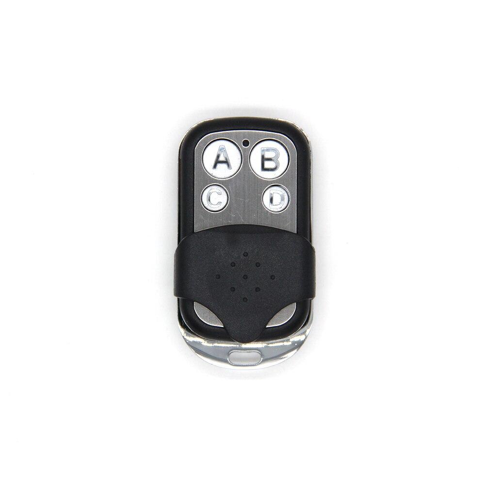 Universal ABCD Schlüssel Fernbedienung 433,92 MHZ Fern Klonen 4 Kanal Auto Auto Garage Tür Duplizierer Rolling Code Für Auto