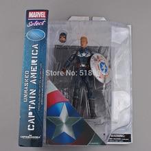 "Marvel Select Captain America Die Bucky PVC Action Figure Sammeln Modell Spielzeug 7 ""18 cm"