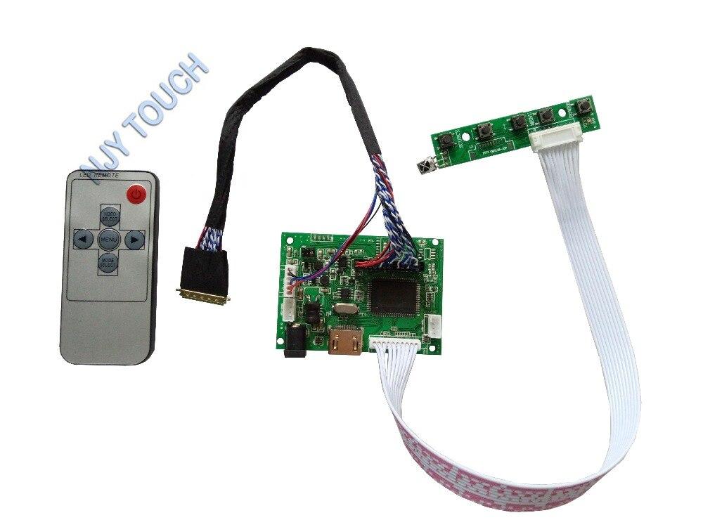 HDMI remoto controlador LCD Placa de controlador para B173HW02 V1 1920x1080 Panel LED