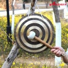 100% Hand Made 16 Sun Wind Gong zawiera jeden kij gong