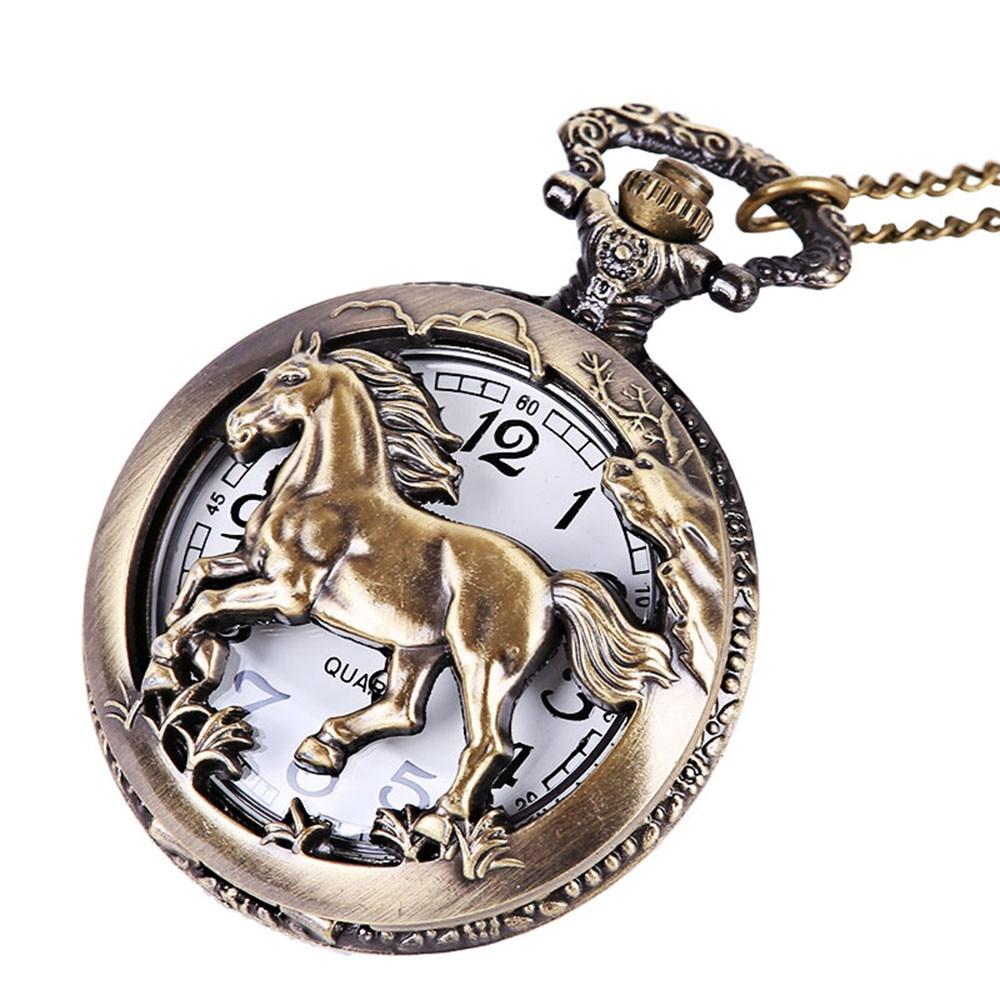 Reloj para hombres, cadena Vintage Retro, el mejor reloj de bolsillo, collar para abuelo, regalos para papá, montre para les hommes