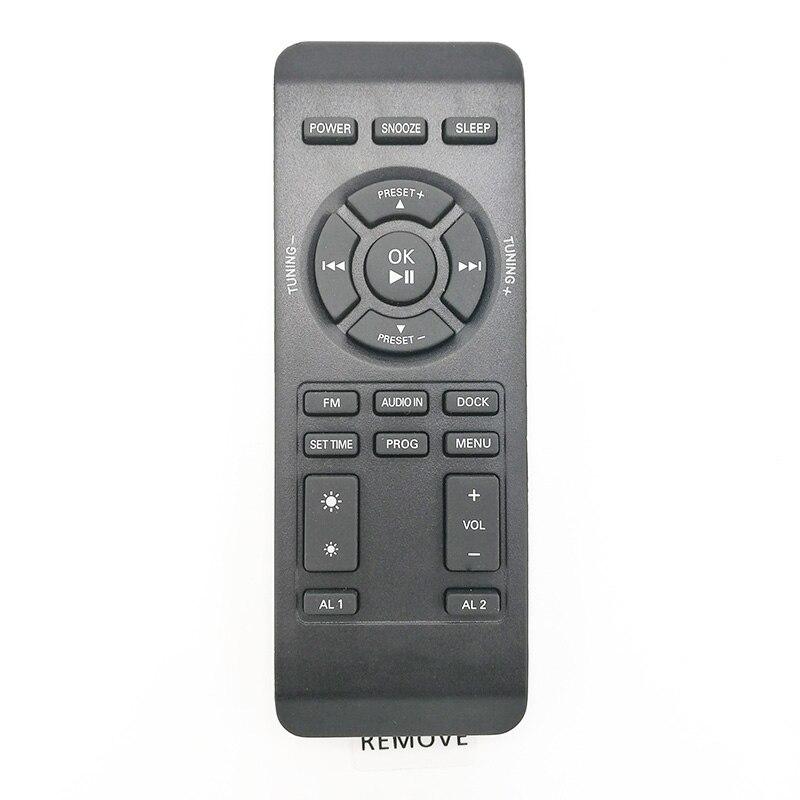 new original remote control for philips  music base And the same picture as easy to use