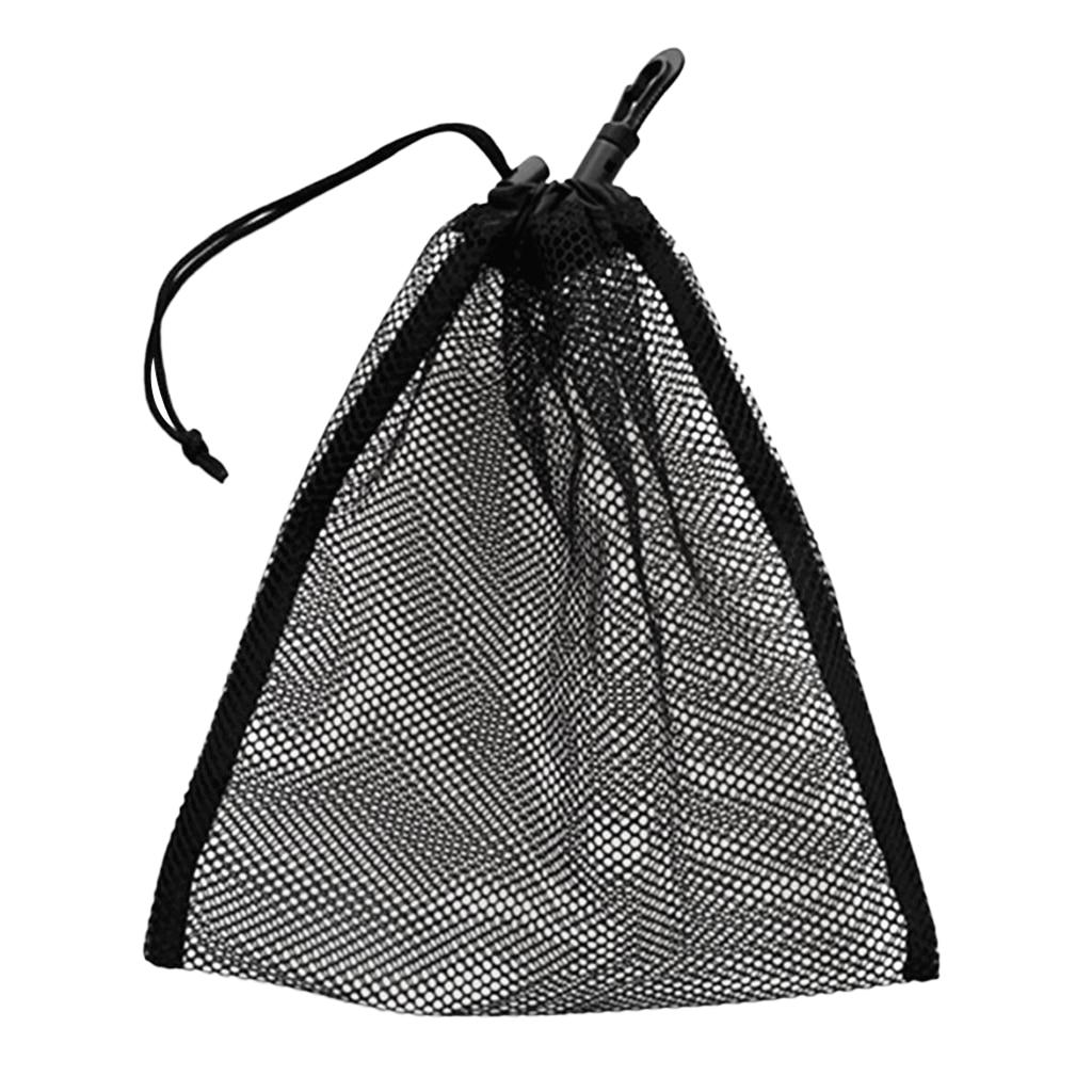 Прочная сумка с сеткой, сумка для подводного плавания, для гольфа, тенниса, 30 мячей, держатель для переноски, зажим для хранения, чехол для Caddy...