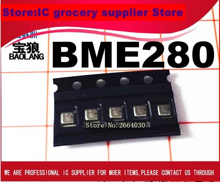 Envío Gratis 5 uds BME280 BME 280 LGA SENSOR HUM/prensa I2C/SPI BME280 chip 100% nuevo y original
