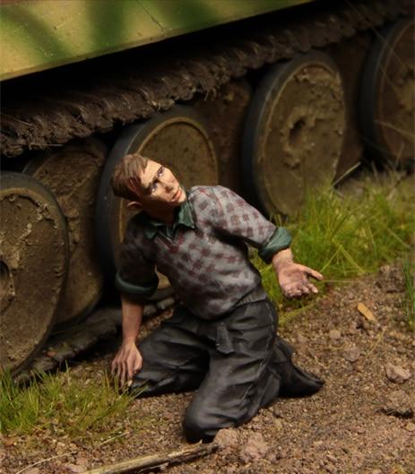 1/35 Escala Figuras de Resina Modelo Kit Panzer Crew, figuras de Kursk 1943 1 GK164 Unassembled sem pintura