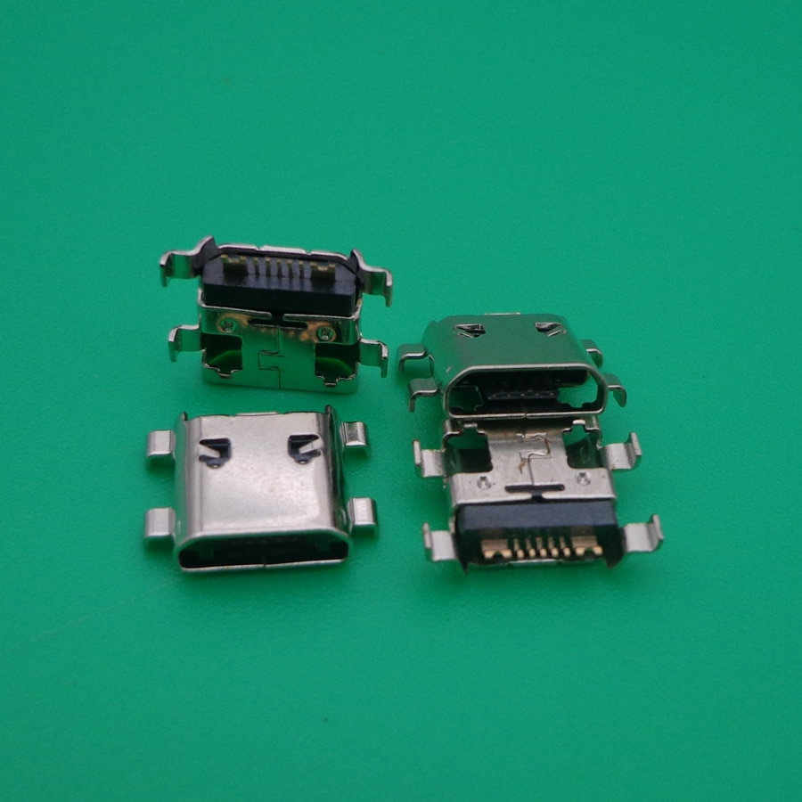 Para samsung galaxy s3 mini i8190 s7562 micro usb jack 7pin carregamento conector plug doca porto 100x