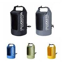 Outdoor swimming Waterproof Bag Camping Rafting Storage Dry Bag with Adjustable Strap Hook