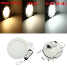 Ultra Dünne LED Deckenplatte Lampe 3W 6W 9W 12W 15W 25W Panel Licht 6000K 4000K 3000K Einbau LED Beleuchtung für Wohnkultur