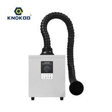 KNOKOO 150W Mini Style FES150 extracteur de fumée Laser monocanal soudage soudure absorbeur de fumée extracteur de fumée