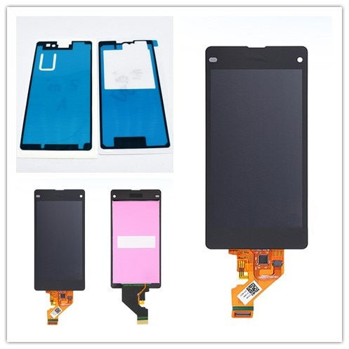JIEYER For Sony Xperia Z1 Mini Compact D5503 M51W LCD Display With Touch Screen Digitizer Assembly Replacement недорого