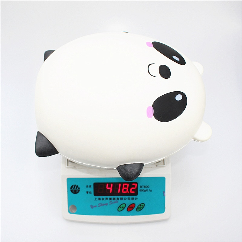 Dropshipping squishy slow rebound oversized panda egg toy PU simulation cartoon animal decompression toy ornaments enlarge
