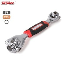 Hi-Spec 48 In 1 Momentsleutel Multitools Tijger Sleutel Tijger Wrench Tool Universele Sleutel Socket Spanner Torquimetro Anahtar takimlari