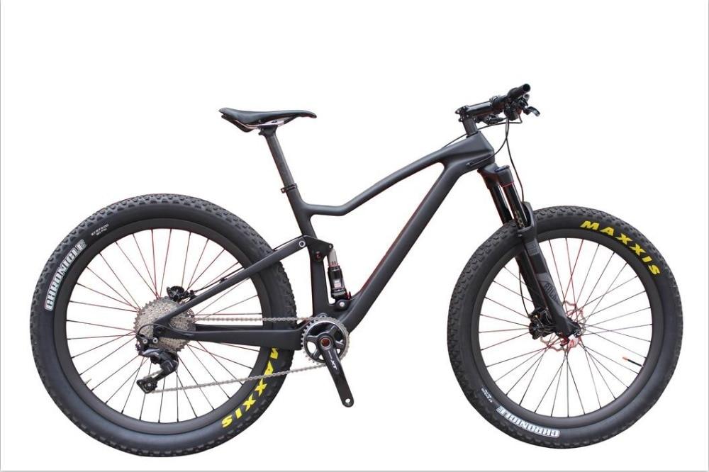"Enduro bikes 29"" Complete Carbon mtb Bicycle Shi-mano XT 29er full suspension Carbon Mountain Bike"