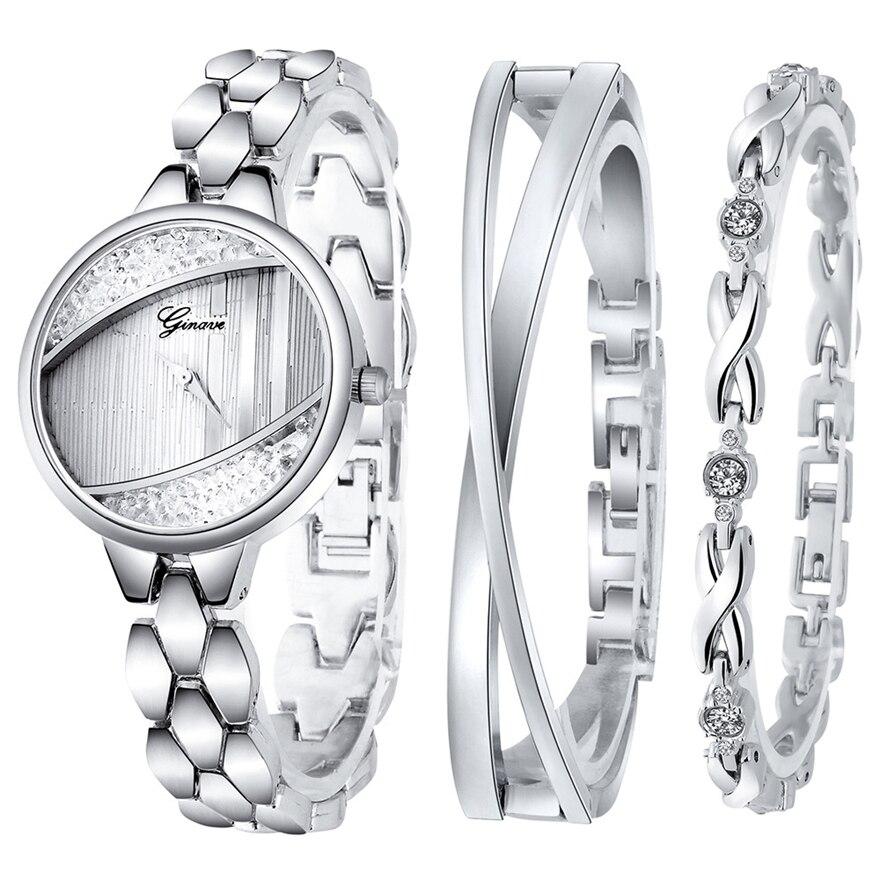 Luxury Bracelet Women Watches Fashion Elegant Ladies Wristwatch 2019 New Rhinestone Female Dress Watch Gift Clock Reloj Mujer enlarge
