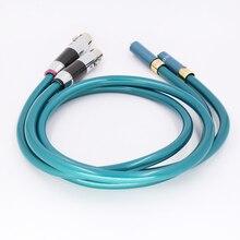 Hifi audio XLR femelle à RCA câble haute pureté OCC Hifi 2 Rca à 2 Xlr câble