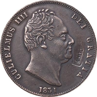 REINO UNIDO 1831 cópia moeda 28mm