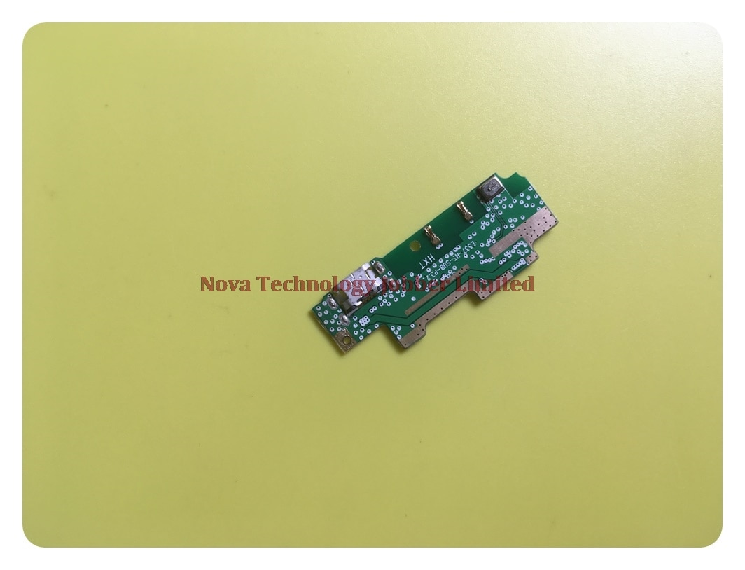 Placa de puerto de carga Wyieno HT 10 para conector de cargador USB Homtom HT10 reemplazo de enchufe de Cable flexible con seguimiento de micrófono