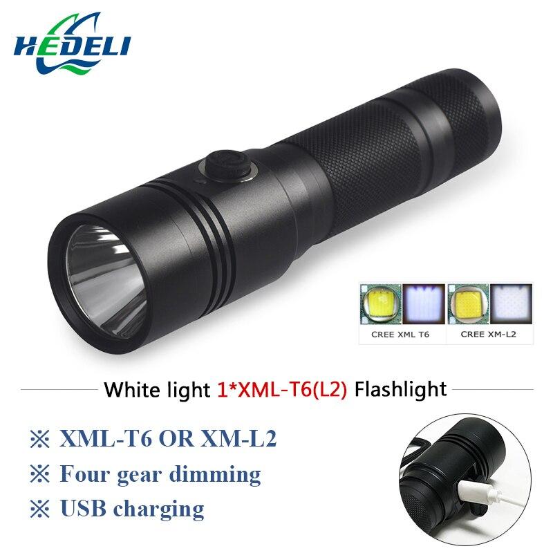 Poderosa lanterna led cree xml t6 lanterna militar L2 waterpoof tocha Camping luzes ao ar livre lâmpada de carga usb 18650 bateria