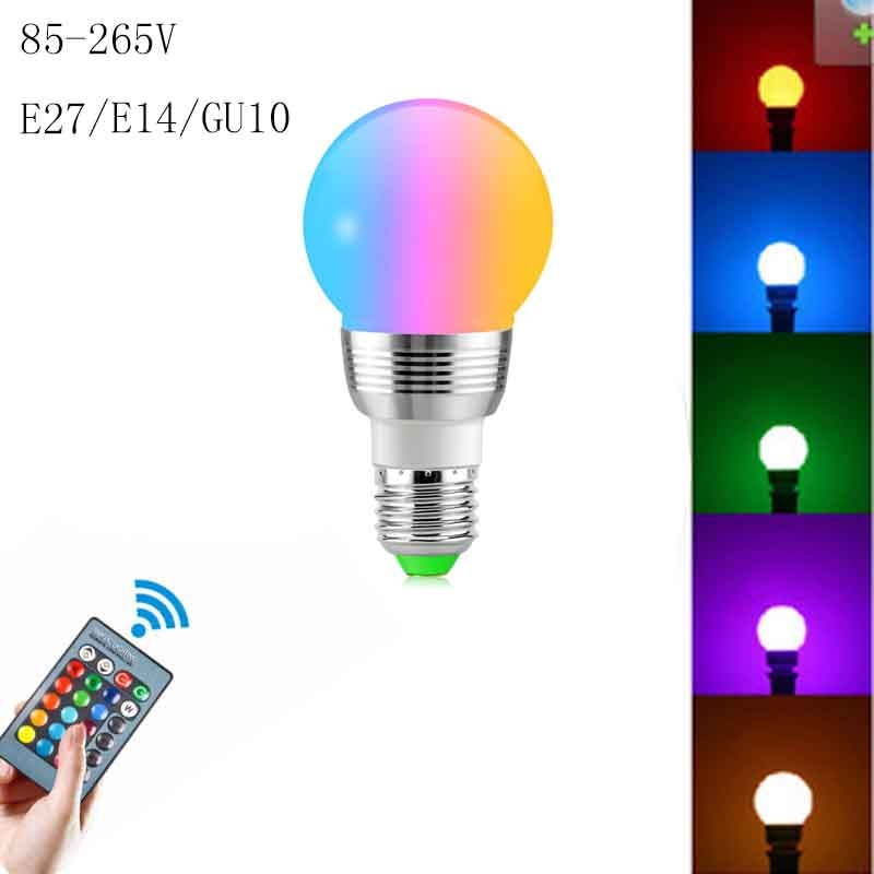 69. Lámpara LED RGB Regulable para Decoración