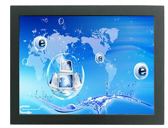 شاشة تعمل باللمس بإطار مفتوح ، 10.4 بوصة ، نسبة 4:3 ، مقاومة غبار صناعية