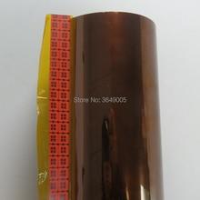 1/2 IN X 36 Yard Een Roll Sterven cut 3 m Lage Statische Polyimide Film Tape 5419, gold 3 m 5419 Elektrische isolatie tapes