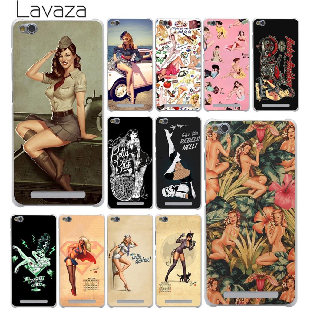 Lavaza PinUp шпильки для девочек жесткий чехол для телефона Xiaomi Redmi 8A 7A 6A 4A K20 Note 8 8T 7 5 6 Pro 4 4X