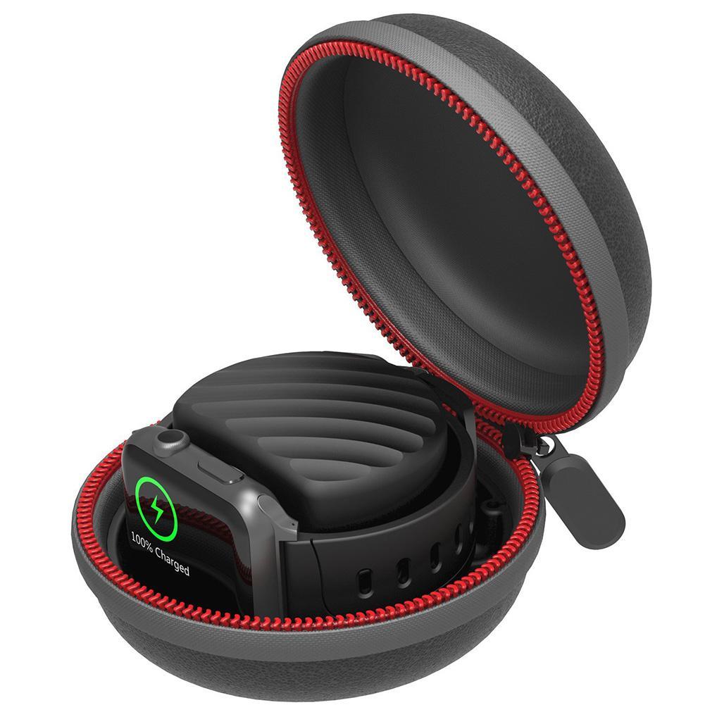 EastVita зарядное устройство и Подставка для зарядки доки дорожный держатель EVA защитный чехол сумка для Apple Watch r25