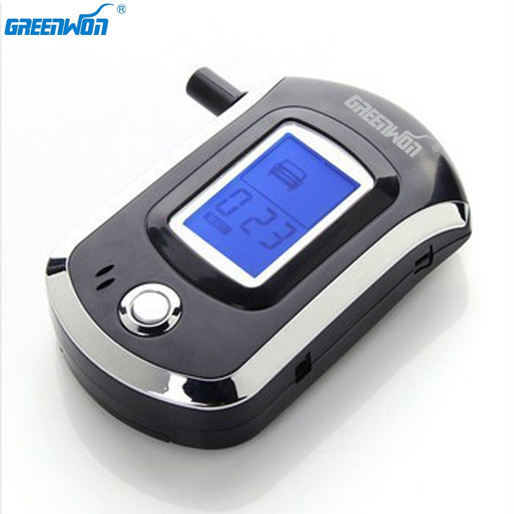 GREENWON Professional Digital Breath Alcohol Tester Breathalyzer AT6000 alcohol breath tester alcohol detector Dropshipping