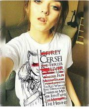 NOT TODAY ARYA STARK GAME OF THRONES T Shirt Women Funny Print T-shirt Fashion Hip Hop Tshirt Harajuku Ullzang Top Tees Female