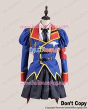 Disfraz Cosplay código Geass Leila Malkal uniforme H008