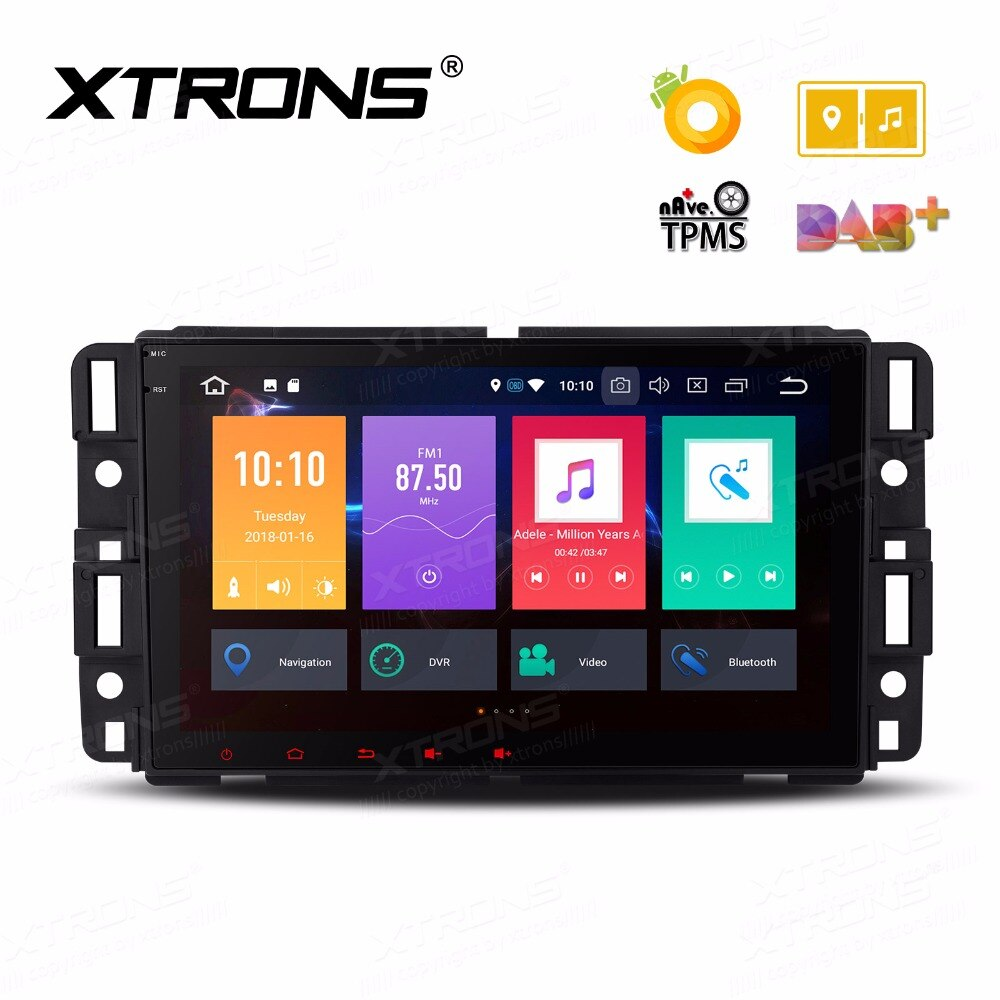"XTRONS 8 ""Android 8,0 Octa Core coche Radio Estéreo reproductor GPS SIN DVD para Chevrolet Suburban Tahoe Impala Buick GMC HUMMER"