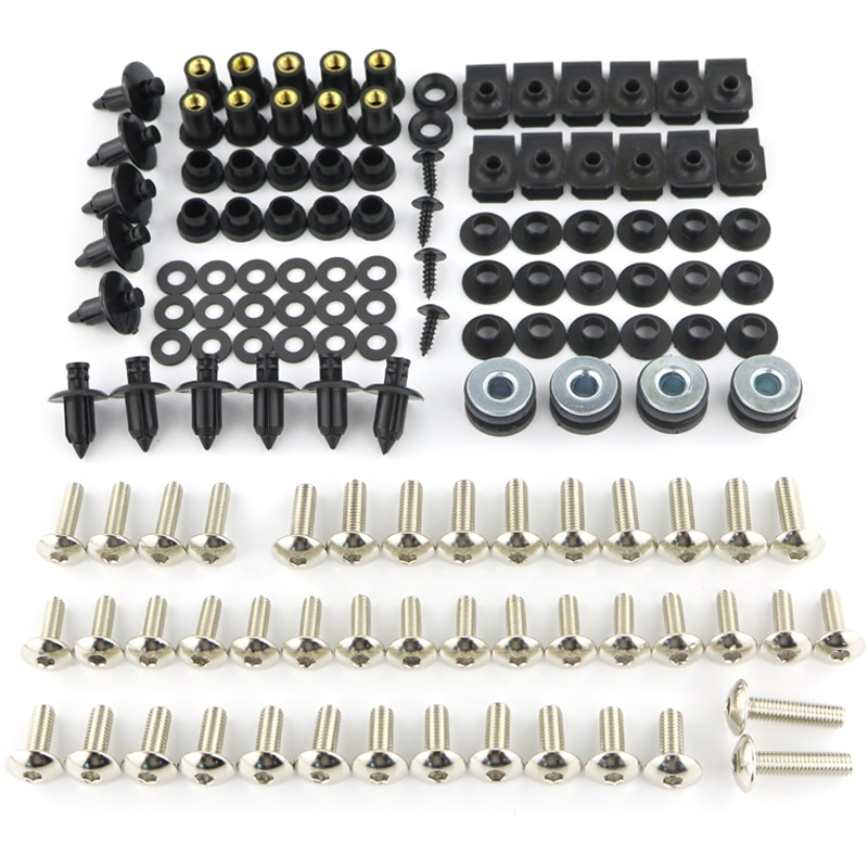Motorcycle Parts Complete Full Fairing Bodywork Bolts Kit Nuts For Suzuki B-King 1300 GSR 400 GSR750 GSR600 GSR 1000 TL1000R S