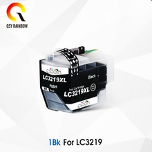 Cartuchos de tinta LC3219XL compatibles con Brother LC3219XL LC3219 para Brother MFC-J5330DW MFC-J5335DW (1 negro, cian, Magenta, amarillo)