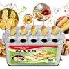 Machine à saucisses et oeufs en rouleau cuiseur automatique de coquetiers Machine de cuisson pour chiens chauds HLA1