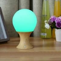 multicolor led night lamp silicone light ball and mushroom variable appearance babykids mushroom night light table desk lamp