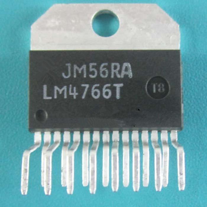 新しい LM4766T ZIP15 40 ワット * 2 ステレオ発熱アンプ ic