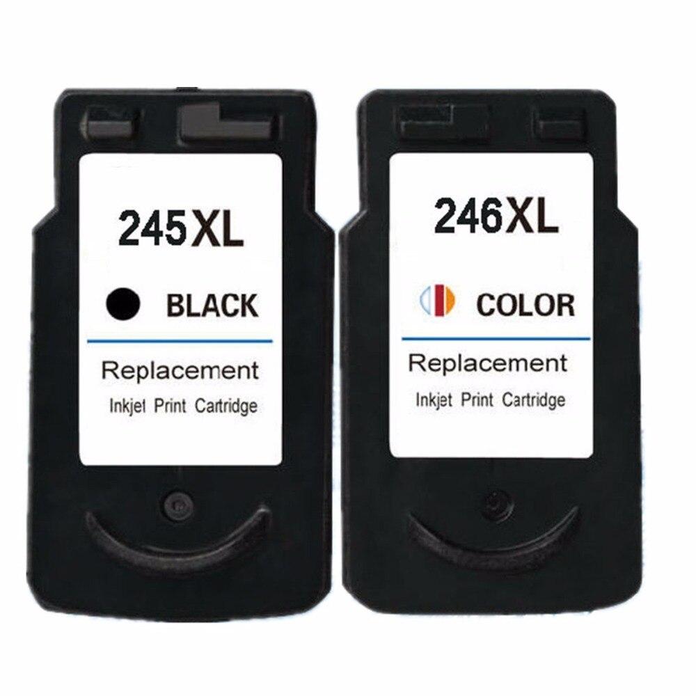Восстановленные картриджи для Canon PG-245 XL PG-245XL PG 245 PG245 CL-246XL CL246 Pixma iP2820 MX492 MG2924 MX492 MG2520