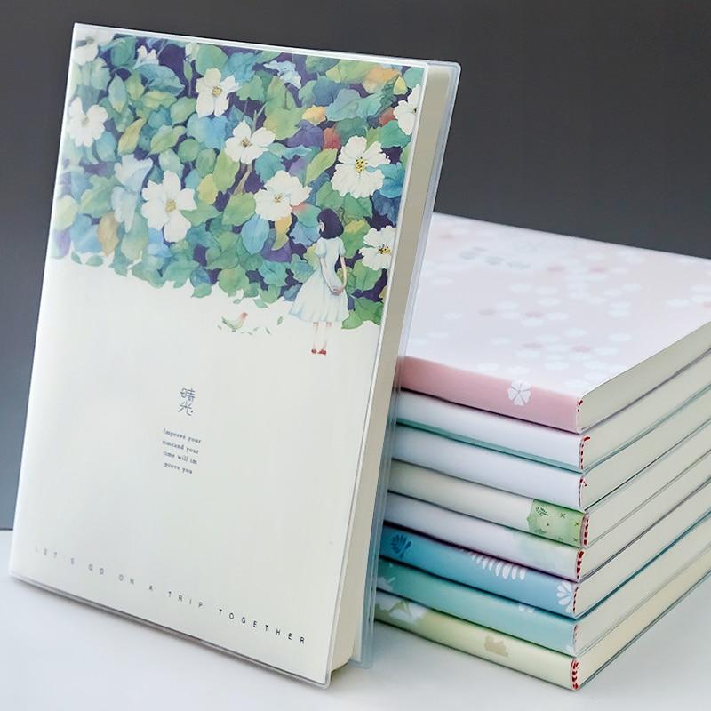 Kawaii Notebook Diary Schoool Notebook Creative Trends Note Book Korea Stationery Skechbook Drawing Office School Supplies Gift